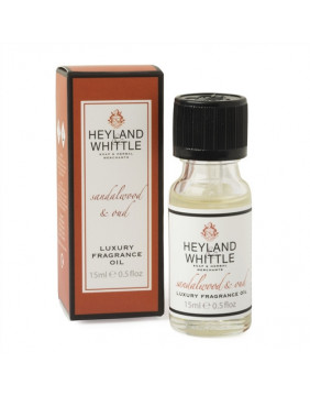 Heyland & Whittle Sandalwood & Oud Luxury Fragrance Oil