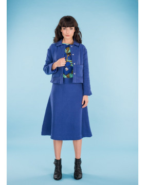 Boom Shankar Blue Kate Skirt