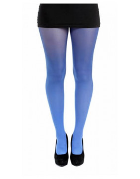 Blue Ombre Dip Dye Tights