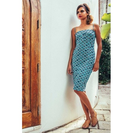 Boom Shankar Jumcoo Tile Dress