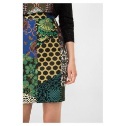 Desigual Alma Patch skirt