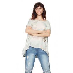 Desigual T Shirt Clarette