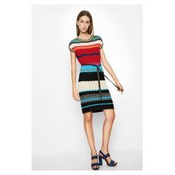 Desigual Menta Knitted Dress